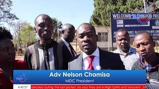 Watch Nelson Chamisa Visiting The Inmates At Chikurubhi Max Prison