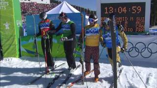 Men's Ski Cross Final - Freestyle Skiing Full Event - Vancouver 2010 Olympics