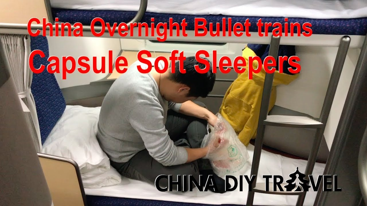 China bullet trains  Capsule soft sleepers - YouTube 12eaf6436