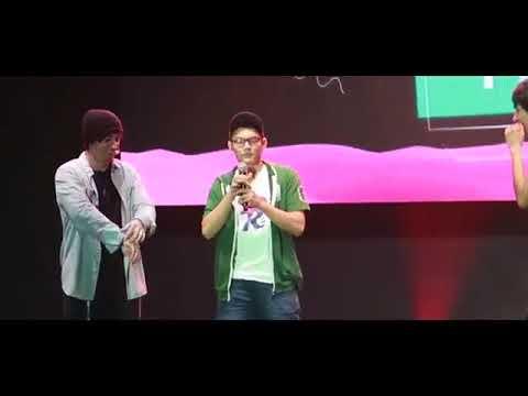 FERNANFLO VS LUZU VE EL VIDEO!!!!!CLUD PERSONAL MEDIA FEST 2017 PARAGUAY