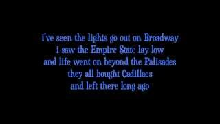 Miami 2017 (Seen The Lights Go Out On Broadway) - Billy Joel Lyrics [on screen]