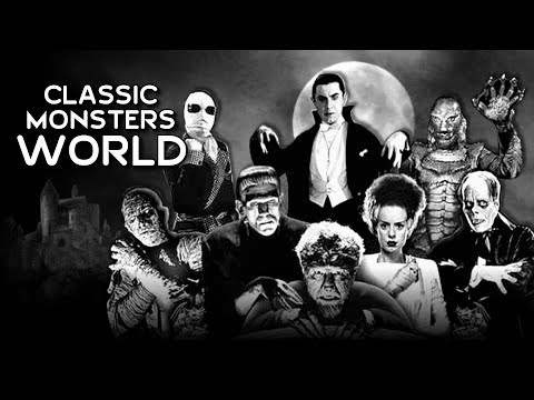 Universal Classic Monsters Land for Universal's Fantastic Worlds - Universal Orlando's New Park