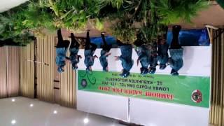 lomba yel-yel jambore kader PKK kabupaten mojokerto 2016