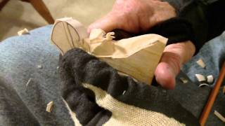 Carving The Simple 3 Piece Nativity Part 1