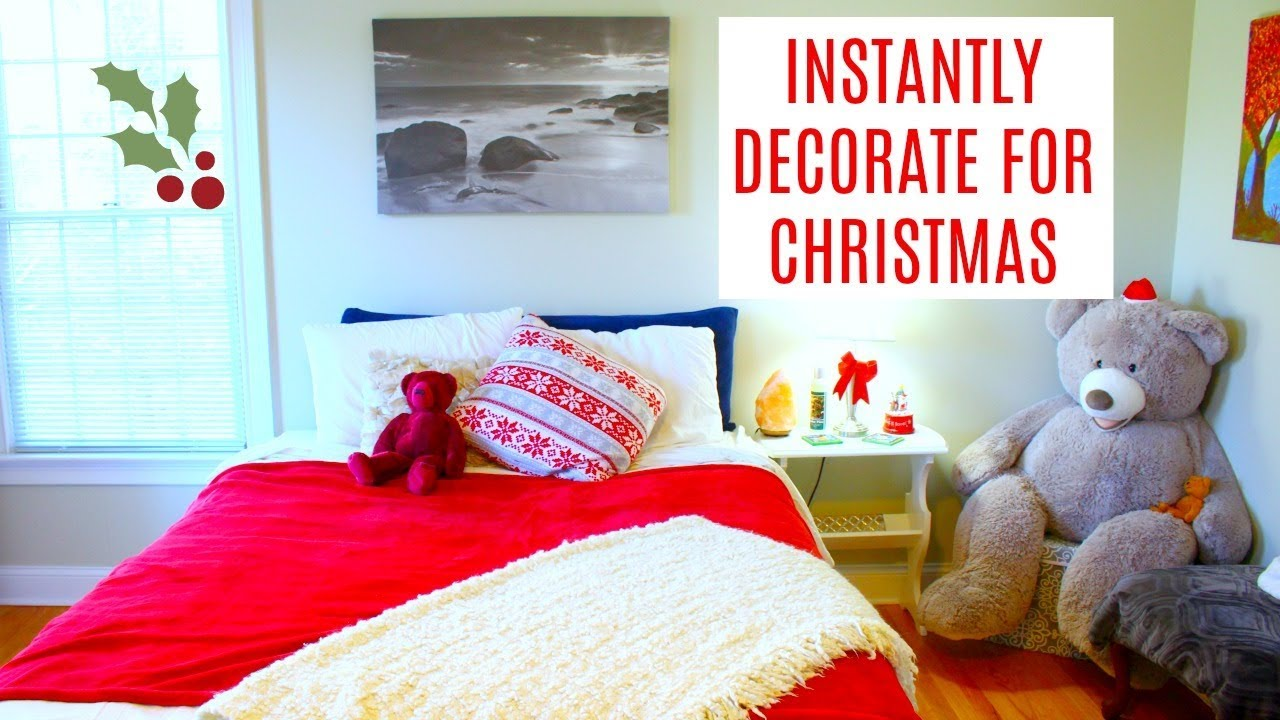 5 Ways to Decorate for Christmas FAST