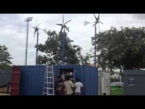 Wind Energy at Work at Climate Rescue Station