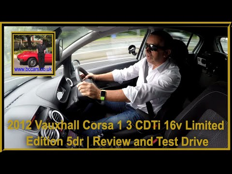 Review and Virtual Video Test Drive In Our Vauxhall Corsa 1 3 CDTi 16v Limited Edition 5dr 4