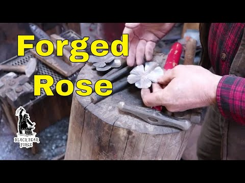 Making An Iron Rose - Part 1