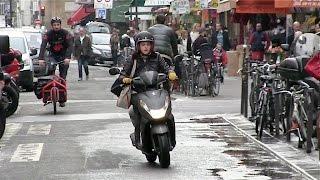 EXCLUSIVE - Kristen Stewart on set of Personal Shopper in Paris - Day 3