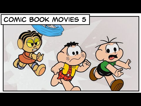 """? Comic Book Movies 5 """"Lights, Camera, Action!""""   Monica and Friends"""