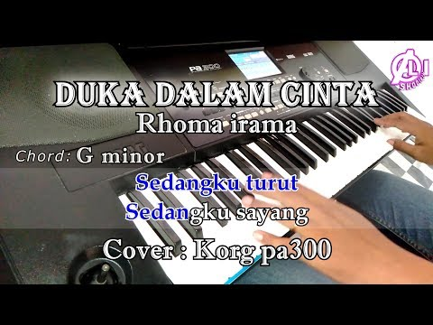 duka-dalam-cinta---karaoke-dan-lirik-chord-(cover)-korg-pa300