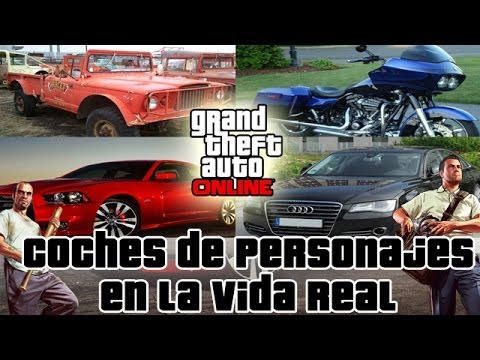 GTA V - Los coches de Franklin, Michael y Trevor en la VIDA REAL from YouTube · Duration:  5 minutes 15 seconds