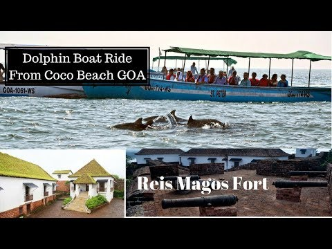 Last Day in GOA || Dolphin Boat Ride From Coco Beach & Reis Magos Fort