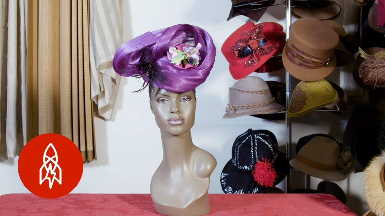 b02e24e0ec8ea4 Behind the Tradition of the Church Hat - YouTube