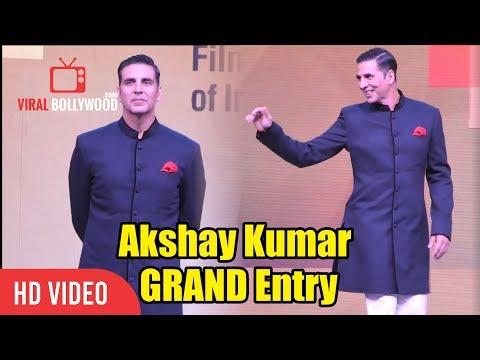 Akshay Kumar GRAND Entry at IFFI GOA 2018 Opening Ceremony | Robot 2.0