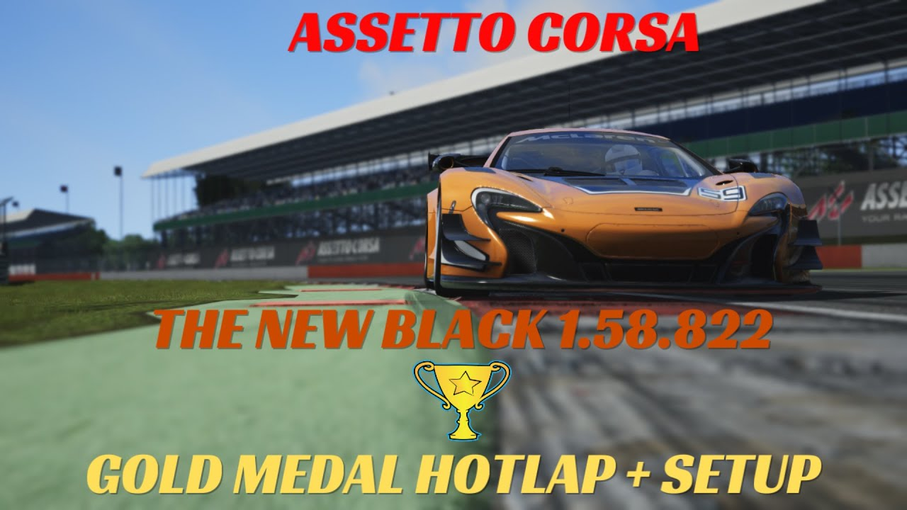 assetto corsa dominate silverstone with this mclaren 650s gt3 1.58