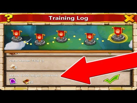COLLECTING ALL REWARDS FROM TRAINING LOG!!!