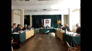Jeziorany, sesja Rady Miejskiej, 30 października 2013   oświadczenia majątkowe