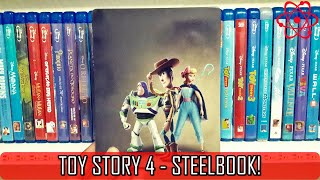 [BLU-RAY] TOY STORY 4 - STEELBOOK!