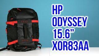 Розпакування HP Odyssey 15.6'' Black/Red X0R83AA