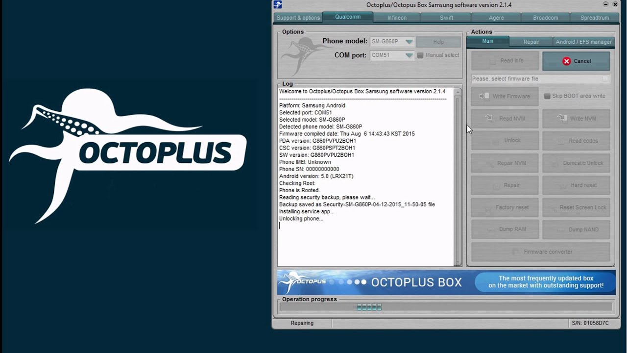 Octoplus Box Samsung Updates - Page 8 - GSM-Forum