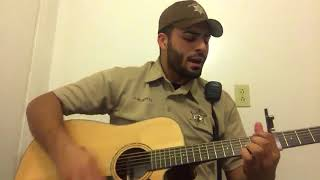 """Luke Combs """"She Got The Best Of Me"""" cover by JaronRoberts_Music"""