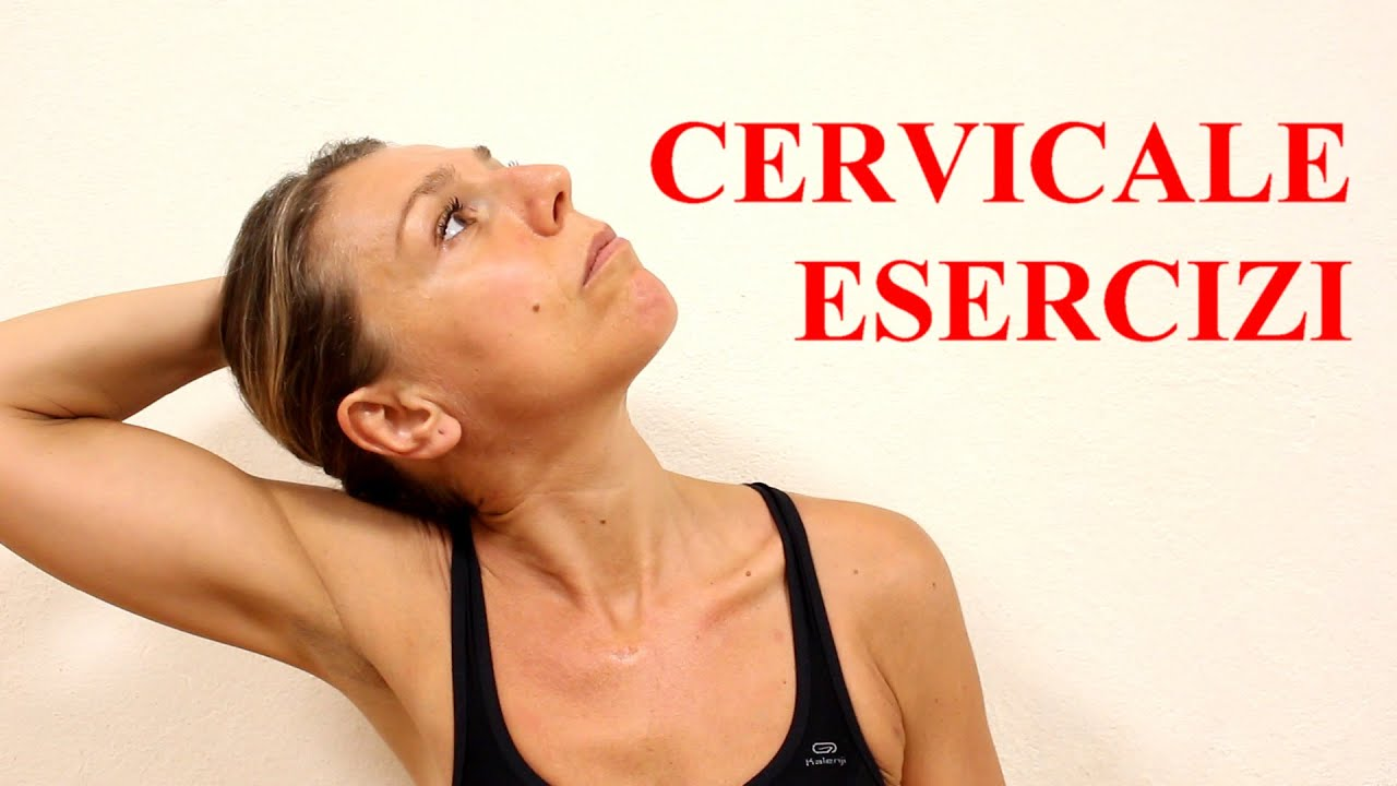 Rimedi per la cervicale esercizi di stretching YouTube