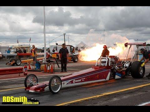 Jet vs Nitro Dragster Shootout, York Raceway 28/08/16