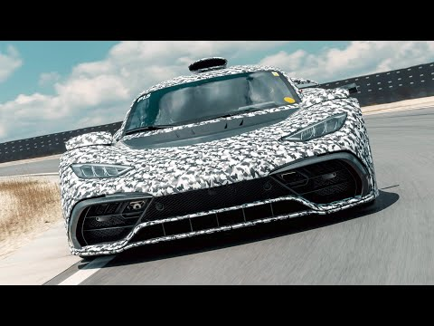 New Mercedes-AMG ONE Hypercar On The Track
