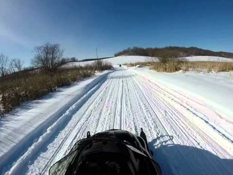 Snowmobiling Dunn County Wis  007