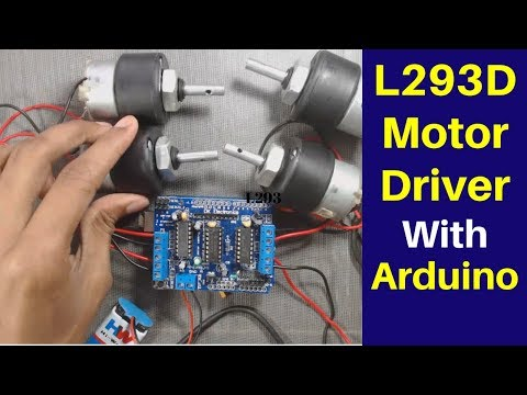 L293d Motor Driver Arduino Tutorial | DC Motor Control Using Arduino And L293d [CC]