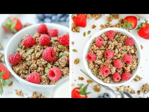 Keto Granola Recipe & 3 Easy Keto Breakfast Ideas To Do With It