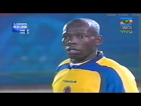 Último partido oficial de Faustino Asprilla con la Selección de Colombia - Eliminatorias 14/11/2001