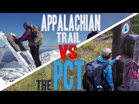 The Appalachian Trail vs The PCT