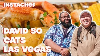 Comedian David So Reviews Las Vegas' Food Scene || InstaChef