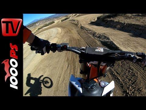 Motocross Paradies Kalifornien - Onboard Action 4k 60FPS - KTM 450 SX-F - Cahuilla Creek
