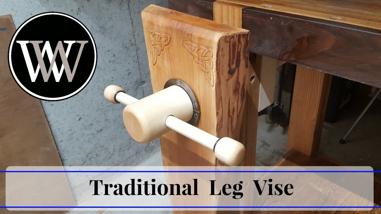 Benchcrafted glide leg vise hardware lee valley tools - Making A Traditional Leg Vise With A Wooden Screw Hand Tool Woodworking