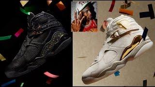 4f817a29b9 Air Jordan 8 VIII Championship Pack Confetti   Trophy Sneakers ...