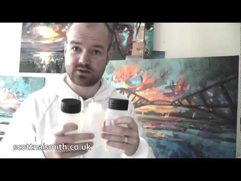 Oil Painting Tutorial: Mediums- Fat over Lean