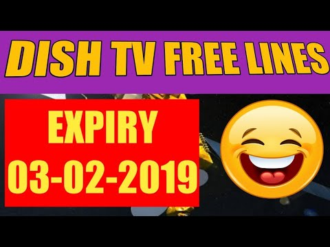 Dish TV 95E Free Lines Expiry 03-02-2019 by Tutorials Geek