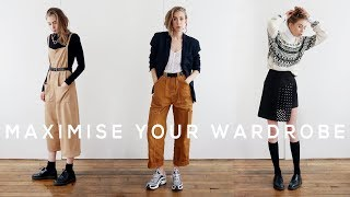 How To Make the Most Out of Your Wardrobe // styling tips