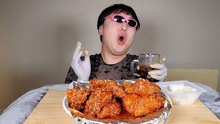 핑썬남 BBQ 시크릿 양념 치킨 리얼사운드 Spicy …
