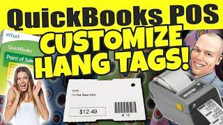 Quickbooks pos: customize hang tags