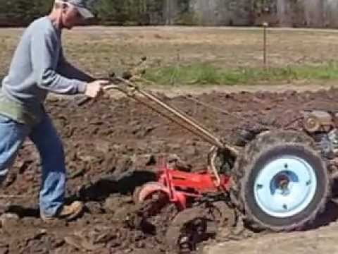 David Bradley Tractor Gardening Youtube