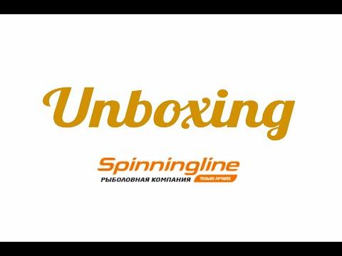 Распаковка посылки c коробкой, приманками и крючками из интернет-магазина Spinningline