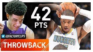 Throwback: Carmelo Anthony INSANE Highlights vs Mavericks (2011.02.10) - 42 Pts, 7 Reb!