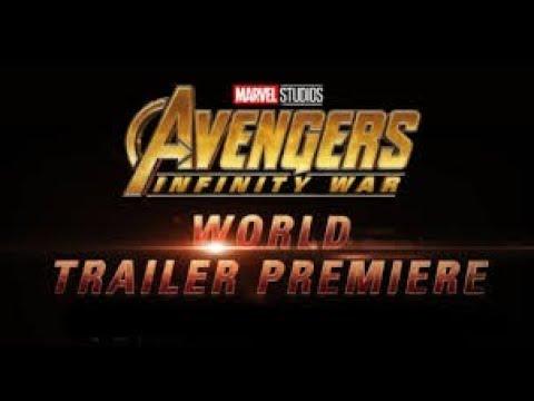Avengers Infinity War Trailer 2 World premiere Tomorow