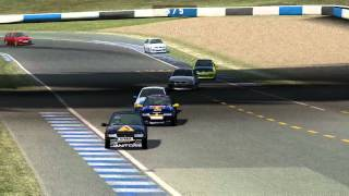 Live for Speed - GONlympics - Race 1 - XFG @ Blackwood GP 2012