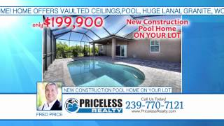 Cape Coral Florida New Home Construction Video Real Estate