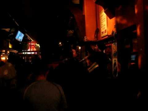 City fans singing in Sams Bar Pub in Copenhagen